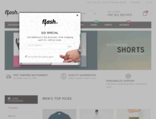 flash.pk screenshot