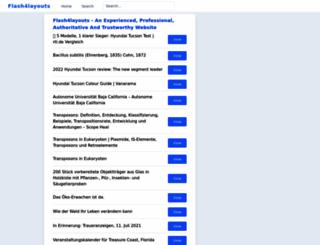 flash4layouts.com screenshot