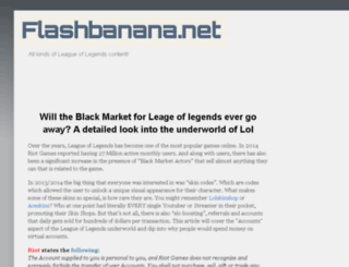 flashbanana.net screenshot