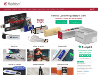 flashbay.pl screenshot
