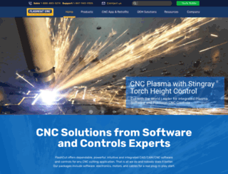 flashcutcnc.com screenshot