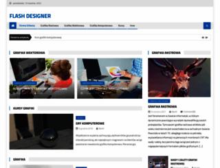 flashdesigner.pl screenshot