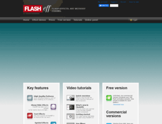 flasheff.com screenshot