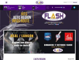 flashfm.fr screenshot
