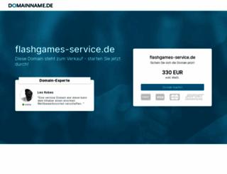 flashgames-service.de screenshot