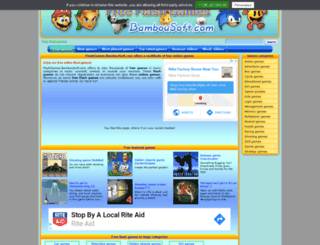 flashgames.bambousoft.com screenshot