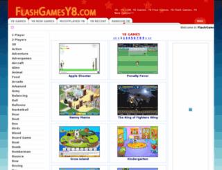 flashgamesy8.com screenshot