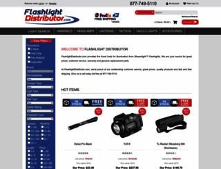 flashlightdistributor.com screenshot