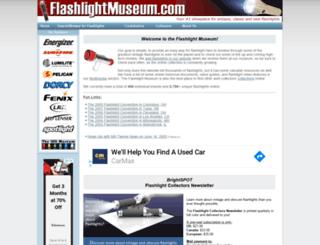flashlightmuseum.com screenshot