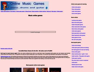 flashmusicgames.com screenshot
