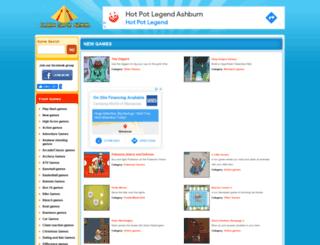 flashninjaclan.com screenshot
