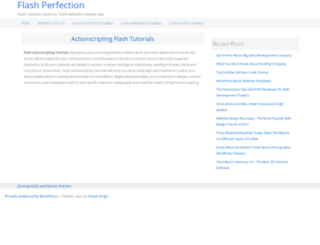 flashperfection.com screenshot