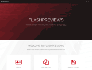 flashpreviews.com screenshot