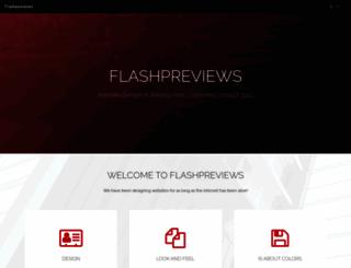 flashpreviews.com screenshot