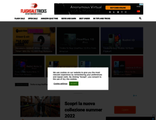 flashsaletricks.com screenshot