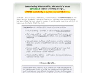 flashstuffer.com screenshot