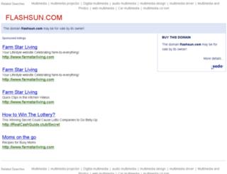 flashsun.com screenshot
