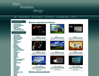 flashtemplatesdesign.com screenshot