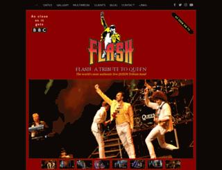 flashtribute.co.uk screenshot