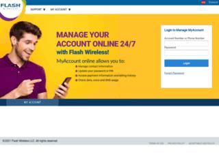 flashwireless.com screenshot
