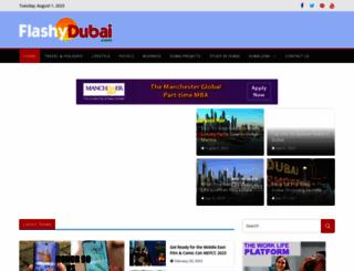 flashydubai.com screenshot
