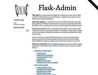 flask-admin.readthedocs.org screenshot