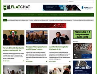 flat-chat.com.au screenshot