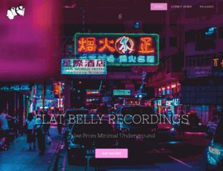 flatbellyrecordings.com screenshot