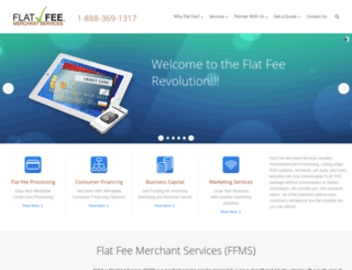 flatfeemerchantservices.com screenshot