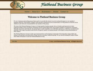 flatheadbusinessgroup.net screenshot