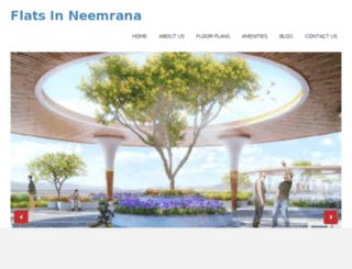 flatinneemrana.com screenshot