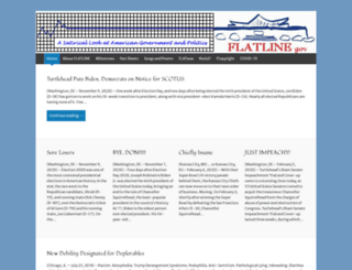 flatlinegov.wordpress.com screenshot