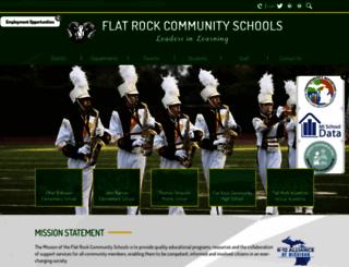 flatrockschools.org screenshot
