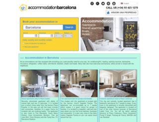 flatsinbarcelona.com screenshot