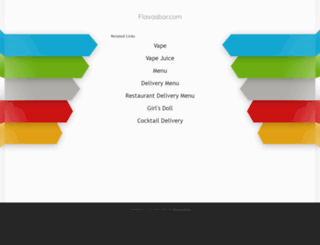 flavasbar.com screenshot