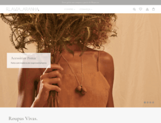 flaviaaranha.com screenshot