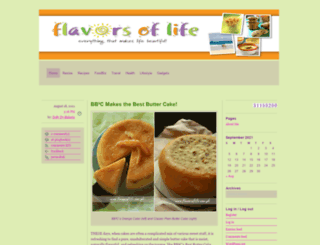 flavorsoflife.com.ph screenshot