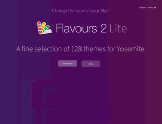 flavours.interacto.net screenshot