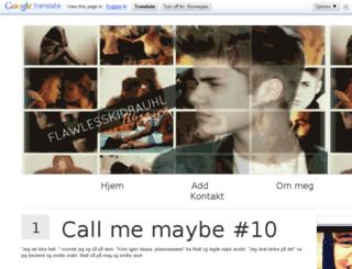 flawlesskidrauhl.blogg.no screenshot