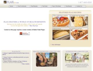 flax.com screenshot