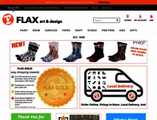 flaxart.com screenshot