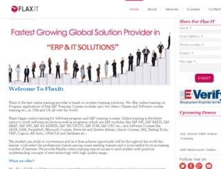 flaxit.com screenshot