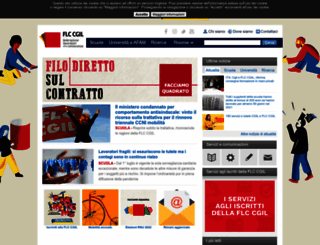 flcgil.it screenshot