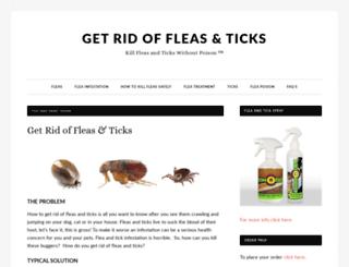 fleaspray.com screenshot
