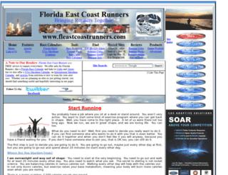 fleastcoastrunners.com screenshot