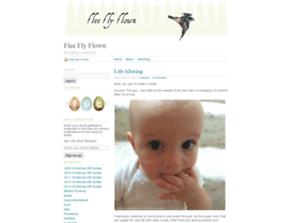 fleeflyflown.wordpress.com screenshot