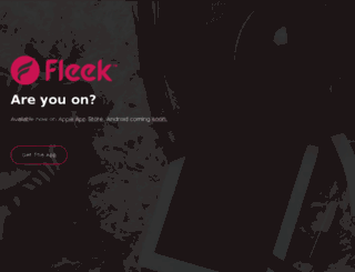 fleek.com screenshot