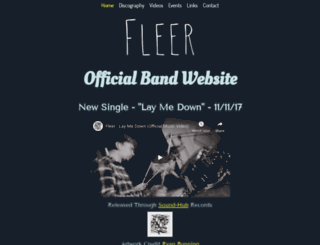 fleer.co.uk screenshot