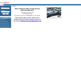 fleet.delaware.gov screenshot