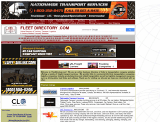fleetdirectory.com screenshot